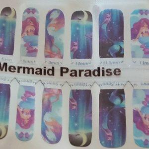 Bindy's Nails Mermaid Paradise Nail Polish Wrap