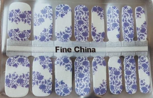 Bindys' Nails Fine China Nail Polish Wrap