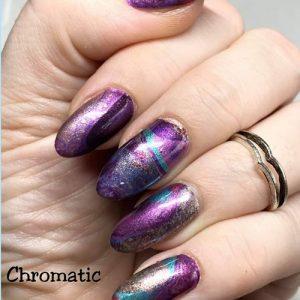 Bindy's Nails Chromatic Puddles Nail Polish Wrap
