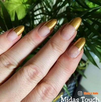 Bindy's Midas Touch Nail Polish Wrap