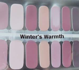 Bindy's Winter Warmth Nail Polish Wrap