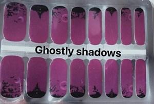 Bindy's Ghostly Shadows Nail Polish Wrap