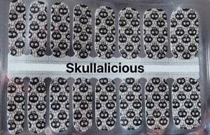 Bindy's Skullalicious Nail Polish Wrap