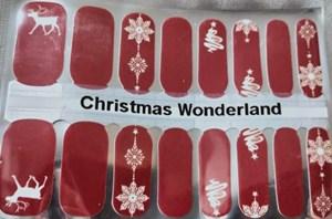 Bindy's Christmas Wonderland Nail Polish Wrap