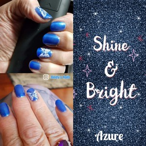 Bindy's Azure One Step UV Gel