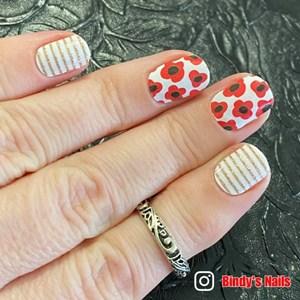 Bindy's Poppy Delight Nail Polish Wrap