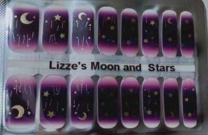 Bindy's Lizzie's Moon & Stars Nail Polish Wrap
