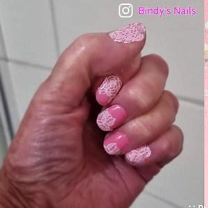 Bindy's Chantilly Lace Nail Polish Wrap