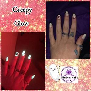 Bindy's Creepy Glow Nail Polish Wrap