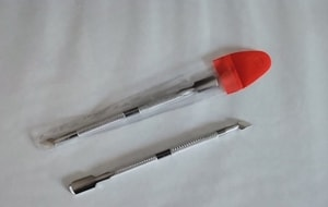 Bindy's Stainless Cuticle Nail Pusher Doubled Ended Spoon