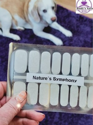 Bindy's Nature's Symphony with Peaches & Cream One Step Gel