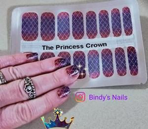 Bindy's The Princess Crown Nail Polish Wrap