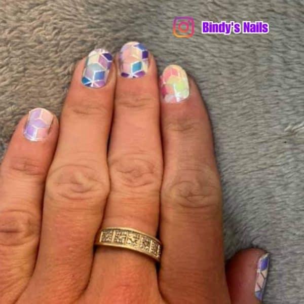 Bindy's Rainbow Prism Nail Polish Wrap